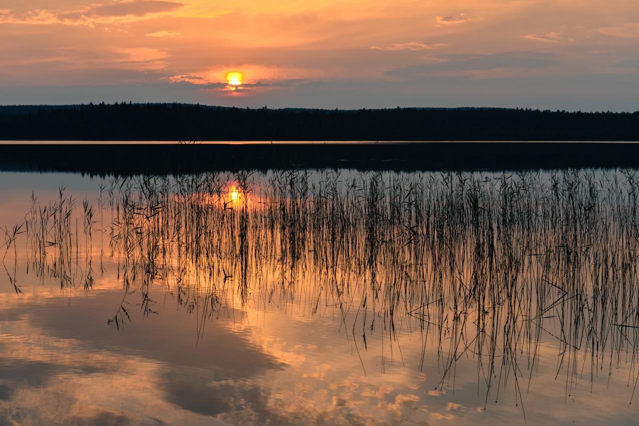 Vindeln lake - Sweden